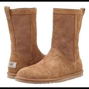 UGG Chestnut Lo Pro Short Perf Boots